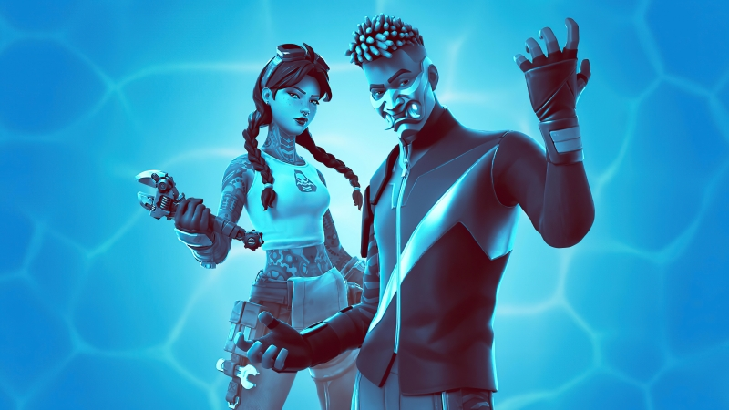 New Fortnite 2020 4K HD Wallpaper