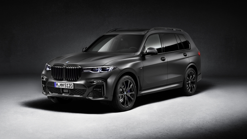 BMW X7 M50i Edition Dark Shadow 2020 4K HD Wallpaper