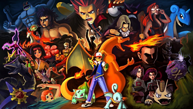 Pokemon 12 HD Wallpaper