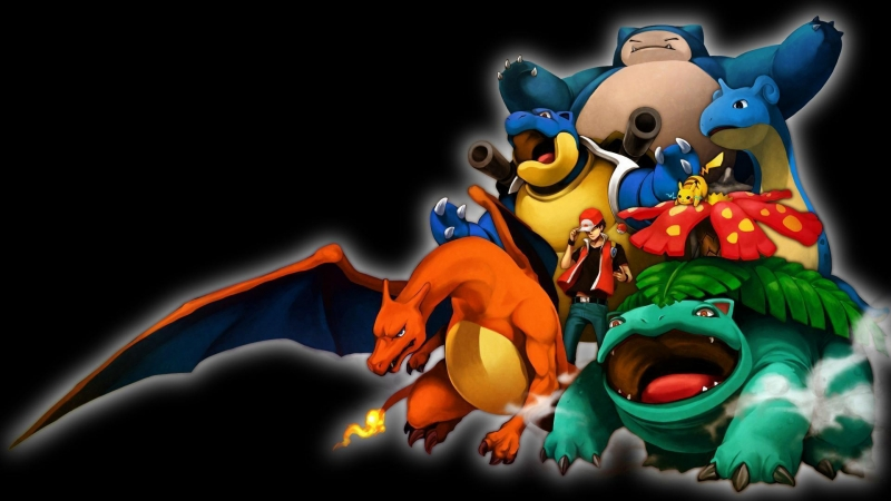 Pokemon 8 HD Wallpaper
