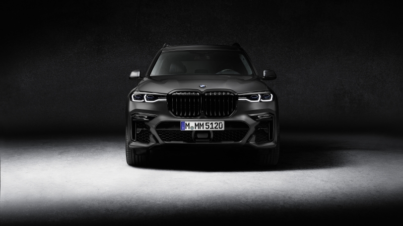 BMW X7 M50i Edition Dark Shadow 2020 4K 5K HD Cars Wallpaper