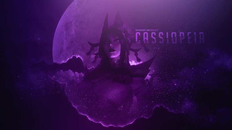 Cassiopeia Cool League Of Legends 4K HD Games Wallpaper