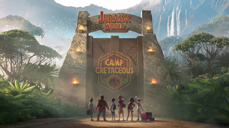 Disney Jurassic World Camp Cretaceous HD Movies Wallpaper