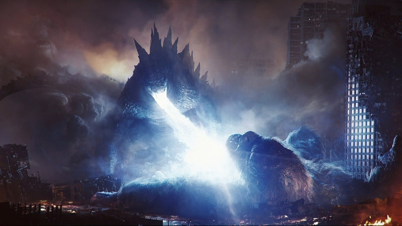 Godzilla Vs Kong 2021 FanArt HD Movies Wallpaper