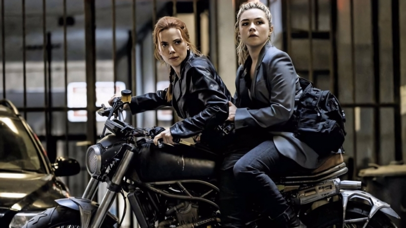 Scarlett Johansson & Florence Pugh in Black Widow HD Movies Wallpaper