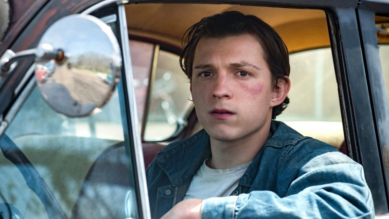 Tom Holland The Devil All the Time HD Movies Wallpaper