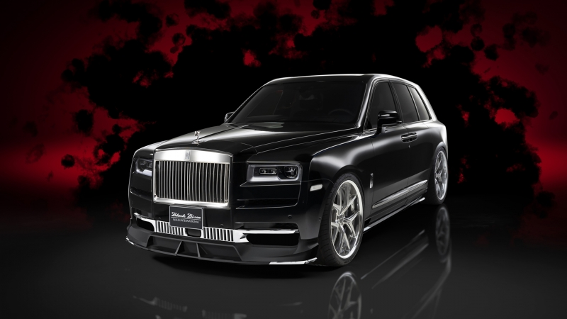 Wald Rolls-Royce Cullinan Sports Line Black Bison Edition 2020 HD Cars Wallpaper