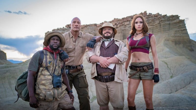 Jumanji The Next Level 4K 5K HD Movies Wallpaper
