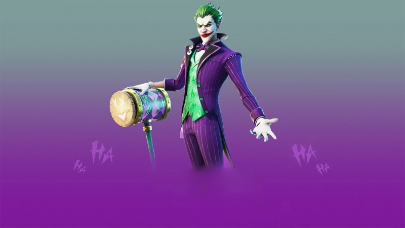 Fortnite Joker HD Games Wallpaper