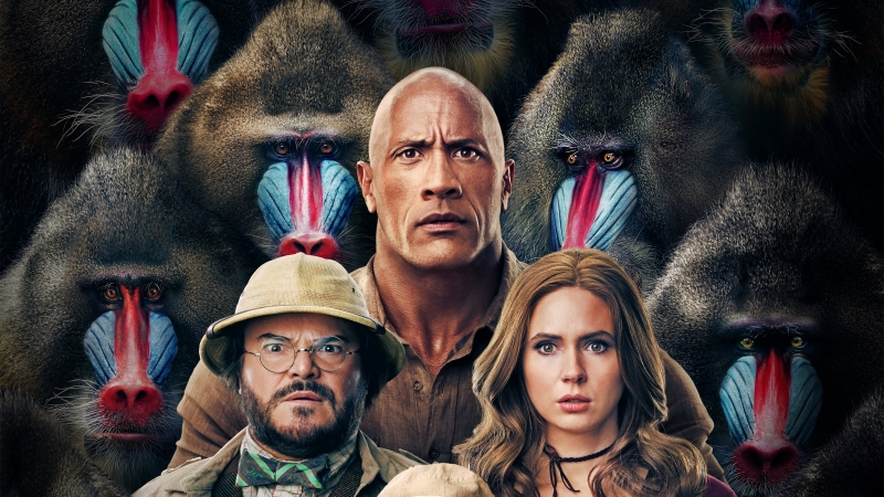 Jumanji The Next Level 4K 8K HD Movies Wallpaper