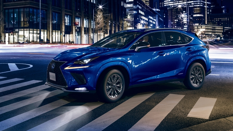 Lexus NX 300h F SPORT Cool & Bright 2020 4K HD Cars Wallpaper