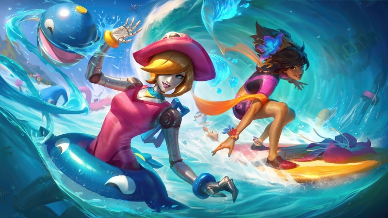 Orianna and Taliyah League Of Legends HD Games Wallpaper