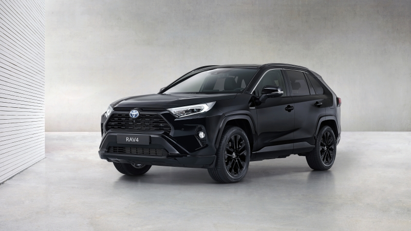 Toyota RAV4 Hybrid Black Edition 2020 4K 5K HD Cars Wallpaper