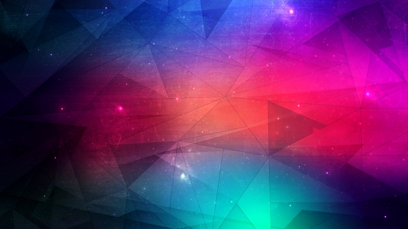 Joining Triangles 4K HD Abstract Wallpaper