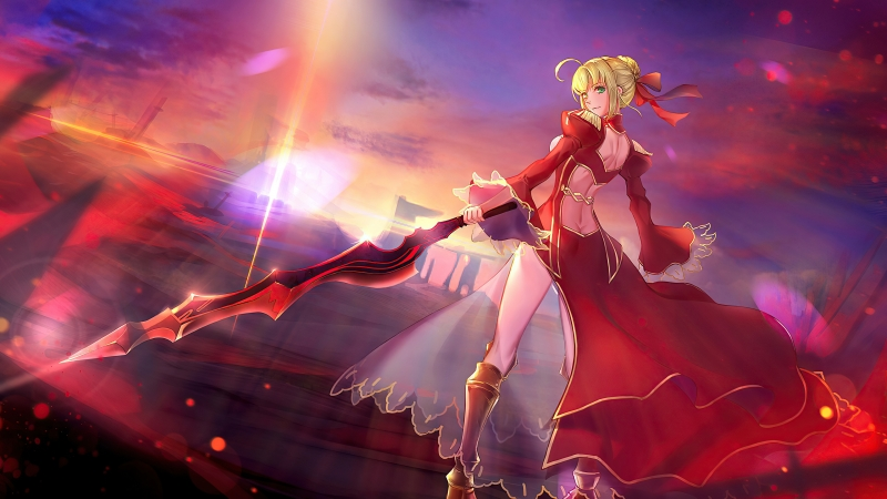 Fate Stay Night Anime 4k Wallpaper