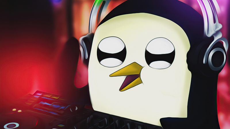 Gunter Playing Dj Wallpaper