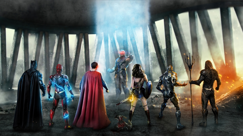 Justice League Vs Darkseid 4k Wallpaper