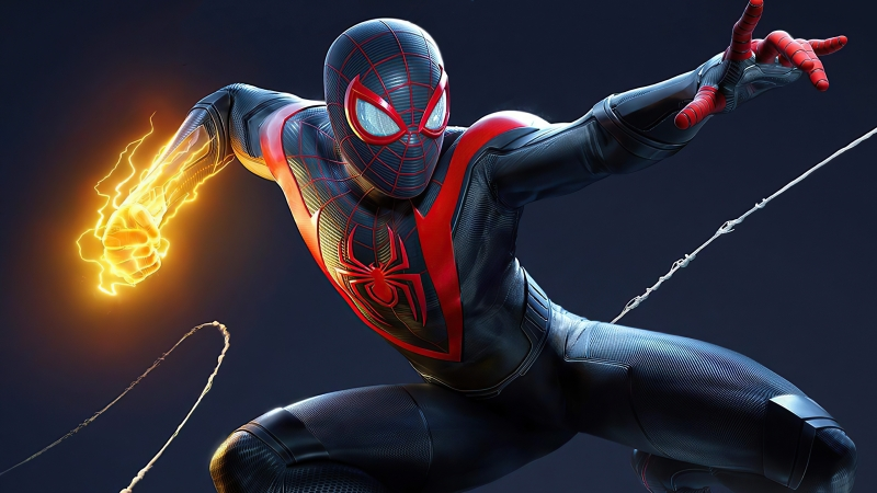 Marvel Spider Man Miles Morales Wallpaper