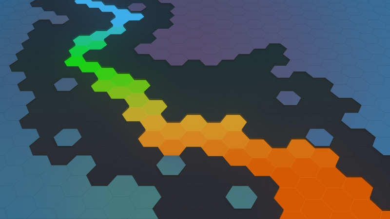 Puzzle Grid Abstract 4k Wallpaper
