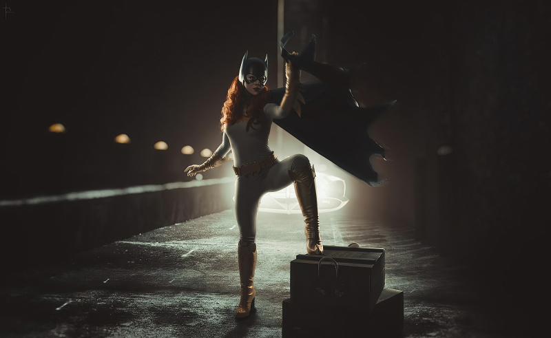 Batgirl Cosplay Art 4k Wallpaper
