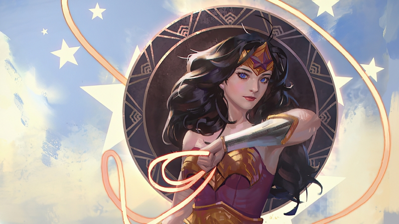Old Wonder Woman Artistic Art 4k Wallpaper