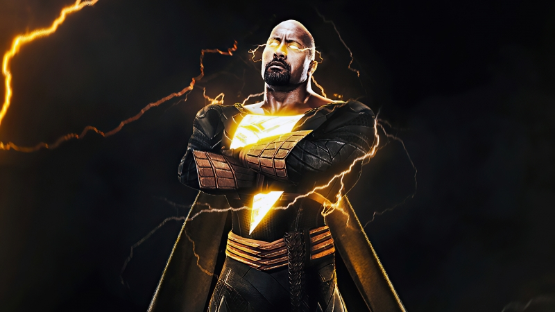 Rock Black Adam 4k 2020 Wallpaper