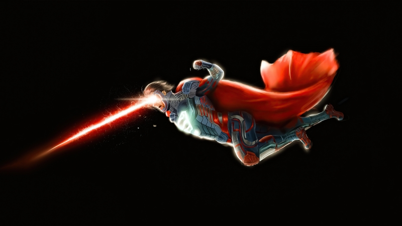 Superman Injustice New Suit Wallpaper