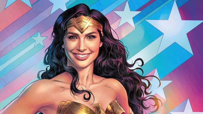 Wonder Woman Amazing Smile Wallpaper