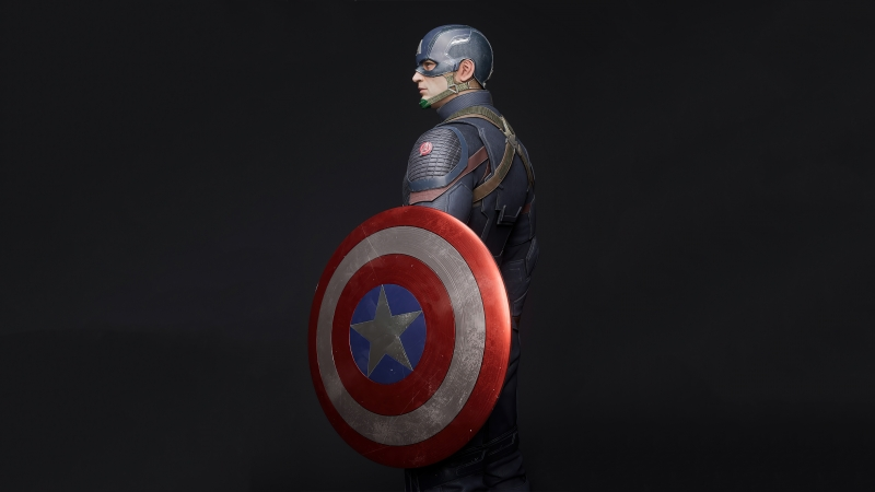 Captain America 4k 2020 Artwork Wallpaper