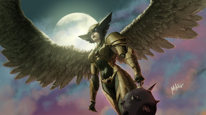Hawkgirl 2020 4k Wallpaper
