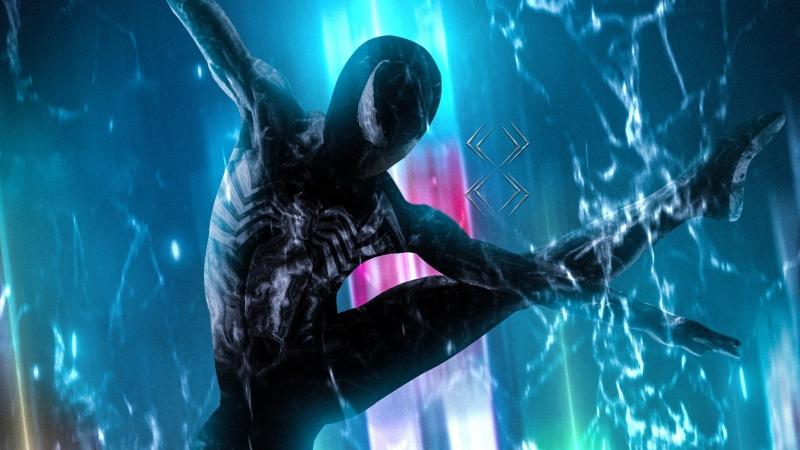 Symbiote Spider Man Wallpaper