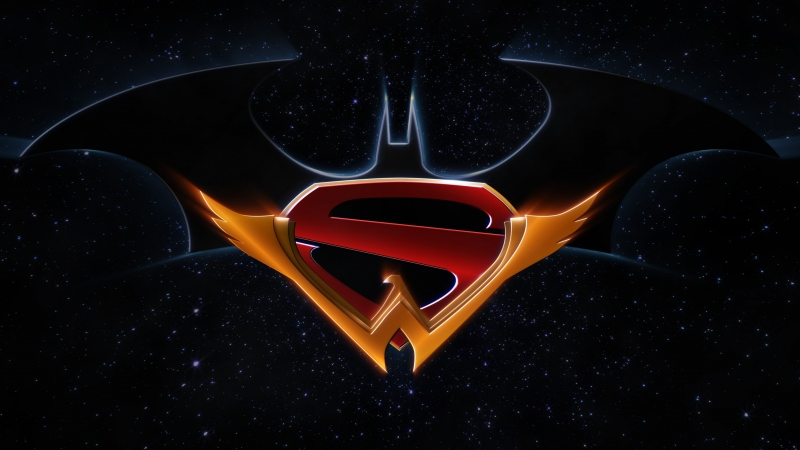 Batman DC Comics Justice League Logo Superman 4K HD Wonder Woman Wallpaper