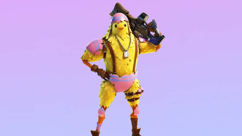 Cluck Outfit Skin Fortnite HD Fornite Wallpaper