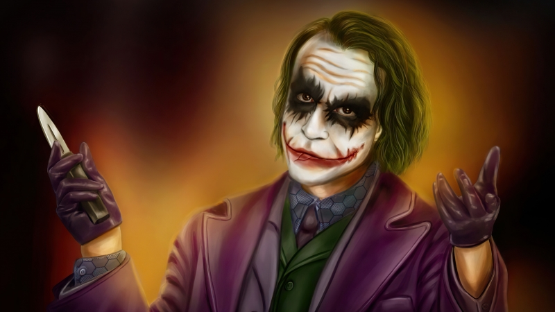 DC Comics Joker 4K 5K HD Joker Wallpaper