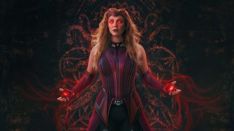 Scarlet Witch Wanda Vision Full Power HD WandaVision Wallpaper