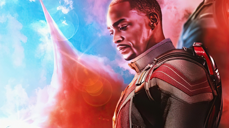 Anthony Mackie In The Falcon And The Winter Soldier 4k Wallpaper