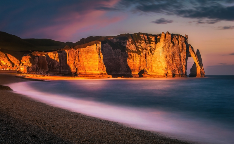 Etretat Cliff 8k Wallpaper