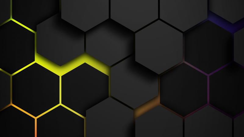 Grids Colors Polygon 5k Wallpaper