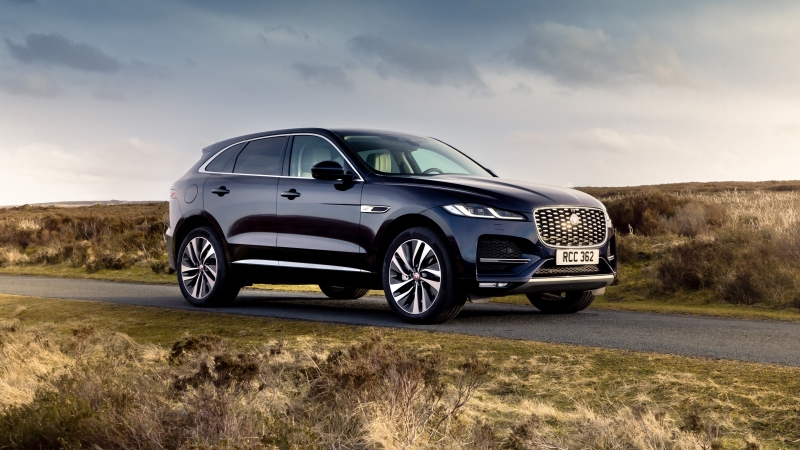 Jaguar F Pace P400E AWD 2021 2 4K 5K HD Cars Wallpaper