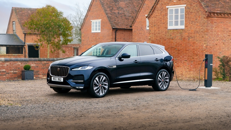 Jaguar F Pace P400E AWD 2021 4K 5K HD Cars Wallpaper