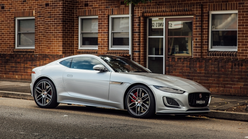 Jaguar F Type P380 Coupe 4K 5K HD Cars Wallpaper