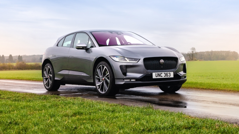 Jaguar I Pace EV400 AWD S Black Pack 2021 2 4K 5K HD Cars Wallpaper