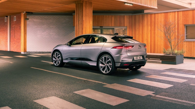 Jaguar I Pace EV400 AWD S Black Pack 2021 3 4K 5K HD Cars Wallpaper