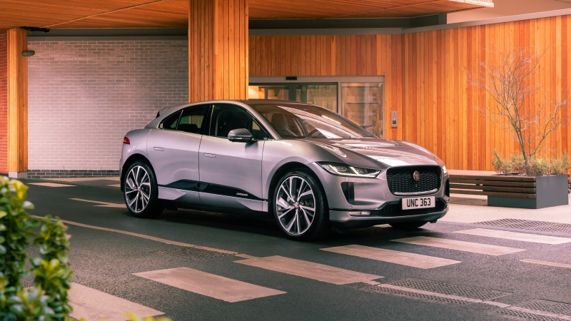 Jaguar I Pace EV400 AWD S Black Pack 2021 4K 5K HD Cars Wallpaper