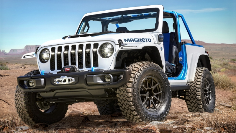 Jeep Wrangler Magneto 2021 4K HD Cars Wallpaper