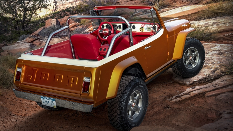 Jeepster Beach 2021 2 4K HD Cars Wallpaper