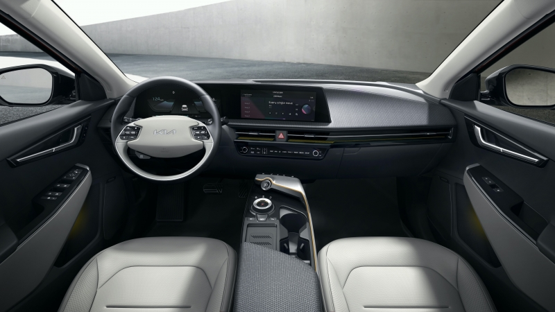 Kia EV6 2021 Interior 4K HD Cars Wallpaper