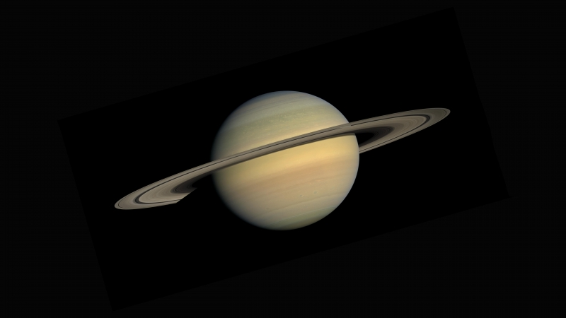 Saturn As Seen From The Cassini Huygens Space Research Mission Nasa 5k Wallpaper