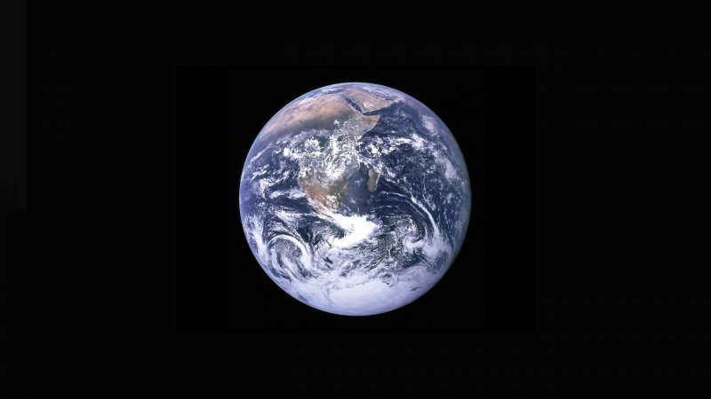 View Of The Earth From Apollo 17 Crew 5k Wallpaper