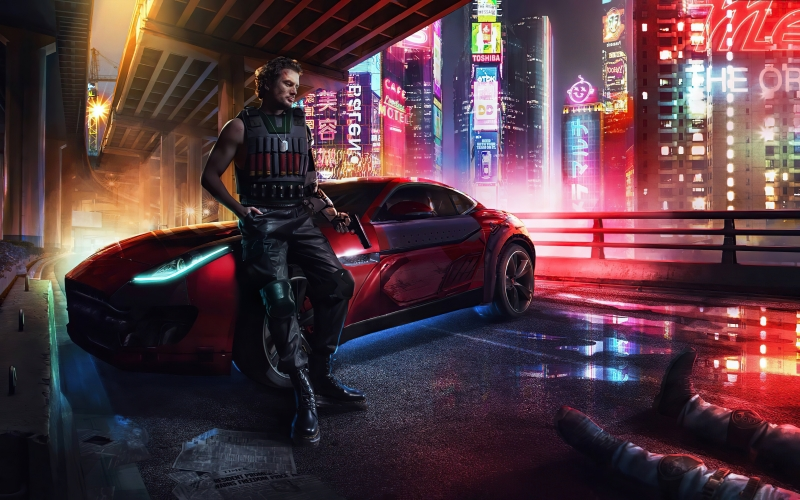 Cyberpunk Mafia Gang Boy 8k Wallpaper
